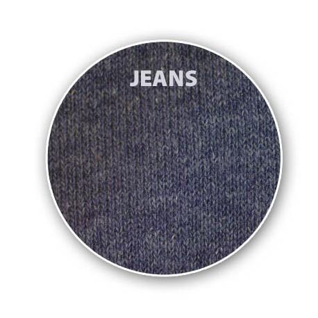 Pánské ponožky HLADKÉ barva jeans