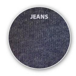 Dámské ponožky ŽEBRO barva Jeans